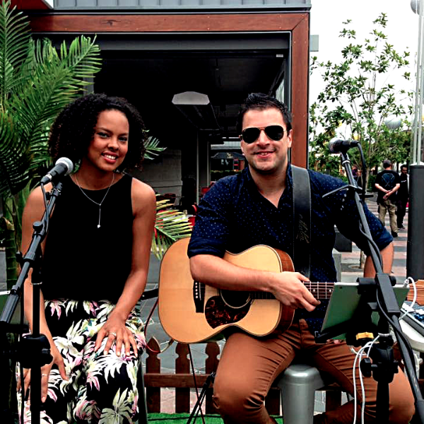 Pop/Soul Duo Acoustic Duo - Public event