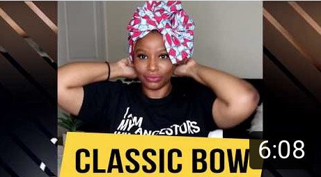 EASIEST HEADWRAP TUTORIALS (4 STYLES)