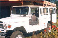 FJ47 HJ47 Troop Carrier Full Body 1980-84 excluding roof Suits Landcruiser Fibreglass