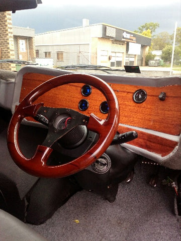 Easy Roller Custom Dash Bedford CF Van Fibreglass