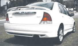Rear Skirt to suit KN & KQ Laser Ford Sedan F2 Bodykit