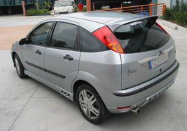 Focus LR Hatch Roof Rally Spoiler 3DR Hatch (10/2002 - 5/2005) Suits Ford Fibreglass