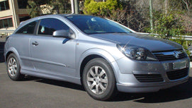 AH Coupe 3 DR Front Skirt Suits Holden Fibreglass