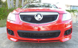 SII Front Spoiler Suits Holden Cruze Fibreglass