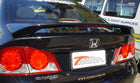 Gen 8 Sedan Rear Wing - Suits Honda Civic Fibreglass