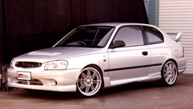 LB Front Skirt Suits Accent LB Hatch (5/2000 -2/2003) WRC Bodykit Style