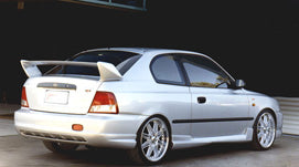 LB Rear Skirt Suits Accent LB Hatch (5/2000 -2/2003) WRC Bodykit Style