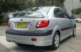 Rio Sedan SIII Rally Wing (9/2005 - 2010) suits Kia Talon Style