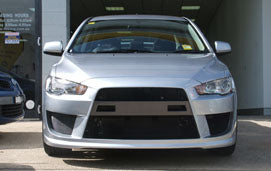 Lancer CJ Hatch Front Bar suits Mitsubishi (11/2007 -) R/T Extreme Bodykit Style