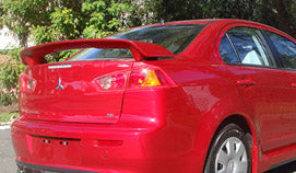 CJ Lancer Hatch Rear Wing (11/2007 -) R/T Extreme Bodykit Style suits Mitsubishi