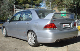 Lancer Sedan CH ES LS Sedan Rear Skirt Suits Mitsubishi R/T Extreme Bodykit