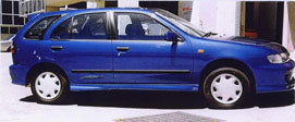 Pulsar N15 Hatch Side Skirts (5/1998 - 6/2000) Suits Nissan Stealth Bodykit