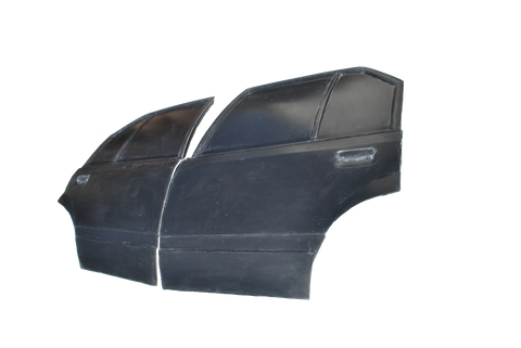 VH VK Rear Doors Fibreglass suits Holden Commodore