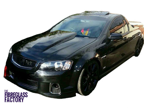 Bonnet Scoop VK Class A - Suits Holden, Reverse Cowl Fibreglass