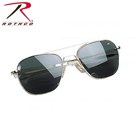 American Optical 52 MM Polarized Pilots Sunglasses, American Optical Sunglasses,- superuniforms.com