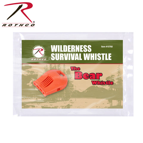 Wilderness Survival Whistle