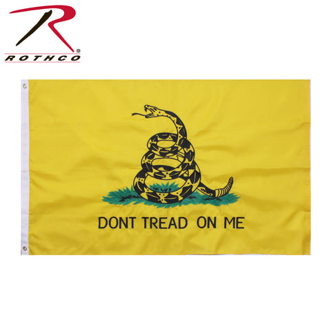Rothco Deluxe Dont Tread On Me Flag