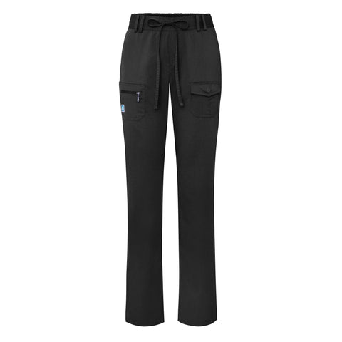 Adar Indulgence Jr. Fit Low Rise Tapered Leg 6 Pocket Drawstring Pants, Medical Uniform Pants,- superuniforms.com
