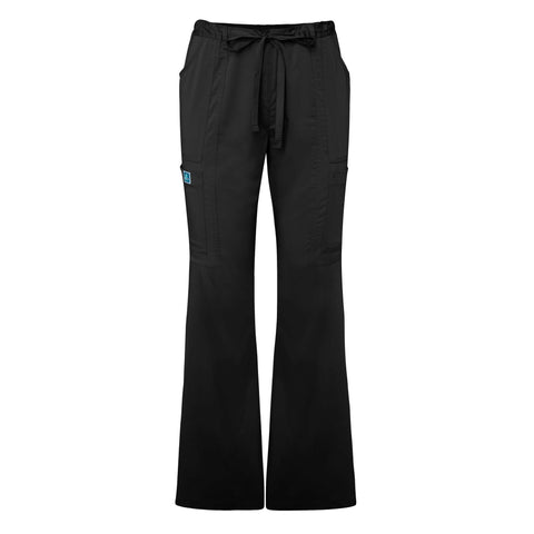 Adar Indulgenc Jr. Fit Low Rise Boot Cut Patch Pocket Pants, Medical Uniform Pants,- superuniforms.com