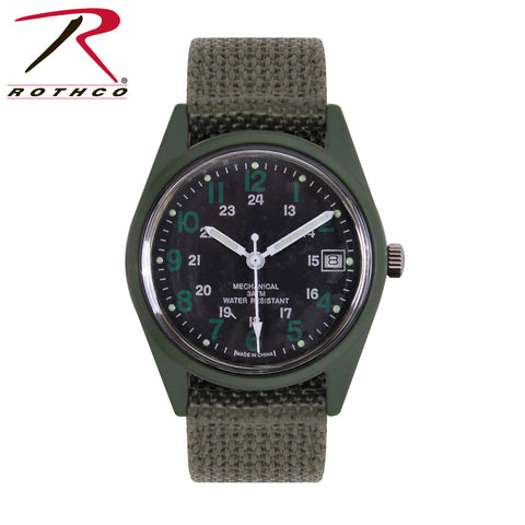Rothco G.I. Type Vietnam Era Wind Up Watch
