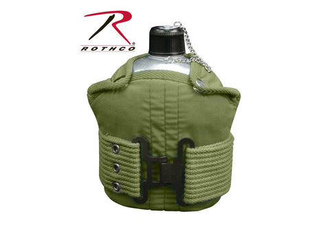 Rothco Aluminum Canteen And  Belt Kit