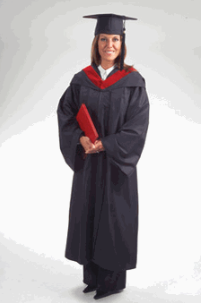 Premium Bachelors Cap Gown and Tassel Package