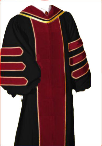 Doctor of Theology Deluxe Regalia Package.