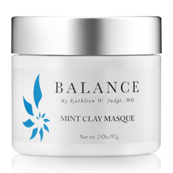 Mint Clay Masque, Masques - Balance by Kathleen W. Judge, MD