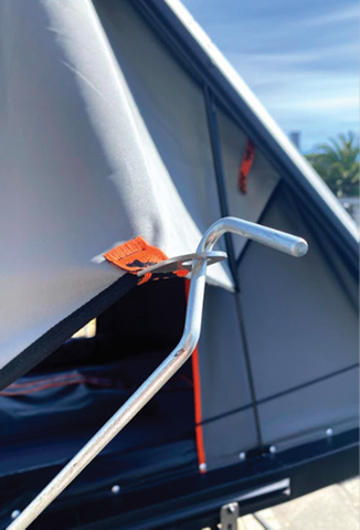 Alu-Cab Gen 3.1 Stainless Spring Pole Tabs