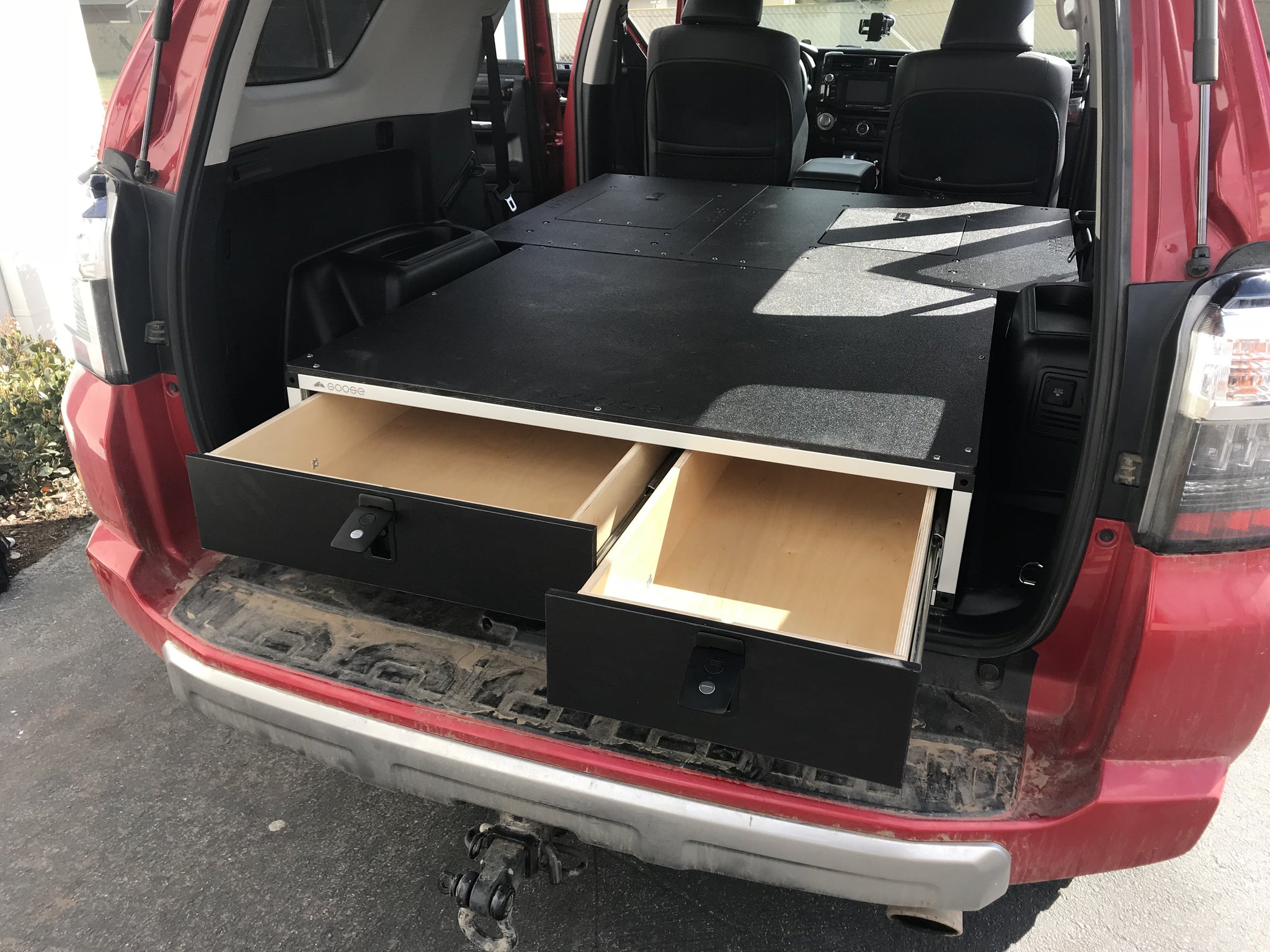 Stealth Sleep And Storage Package For 4runner 5th Gen Cb Adventure Supply