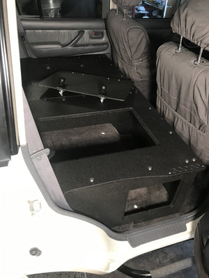 Land Cruiser 80 Second Row Seat Delete / Standard Profile Sleeping Platform