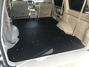 Land Cruiser 100 Plate and Sleeping Platforms