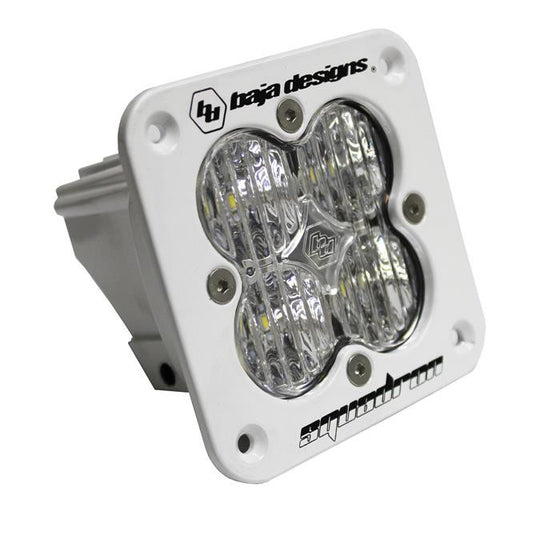 Squadron Pro, White, Flush Mount, LED Wide-Cornering