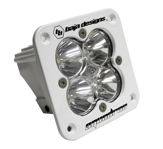 Squadron Pro, White, Flush Mount, LED Flood/Work