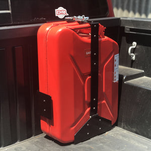 Wavian Heavy-Duty 20 Liter Jerry Can Holder (Front Loading)