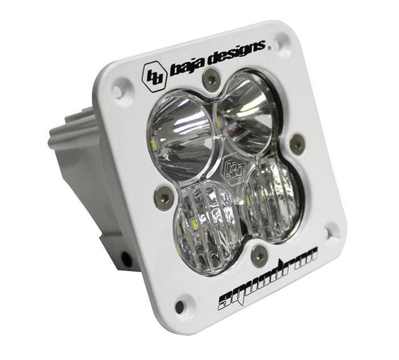 Squadron Sport, White, Flush Mount, LED Driving/Combo