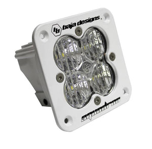 Squadron Sport, White, Flush Mount, LED Wide Cornering