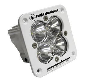 Squadron Sport, White, Flush Mount, LED Flood