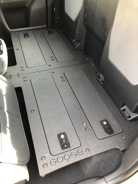 Tacoma Access Cab 2nd Row Seat Delete for 3rd Gen with Factory Seats