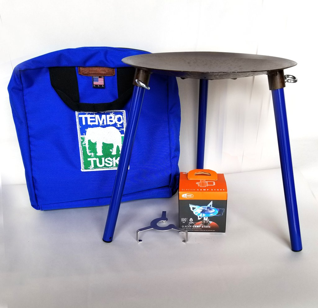 Tembo Tusk Adventure Skottle Grill Kit
