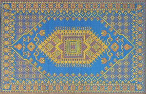 Mad Mats Outdoor Rugs - Blue