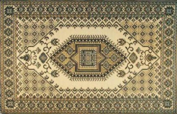 Mad Mats Outdoor Rugs - Brown and Black