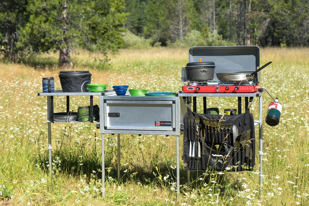 Compact Camp Kitchen