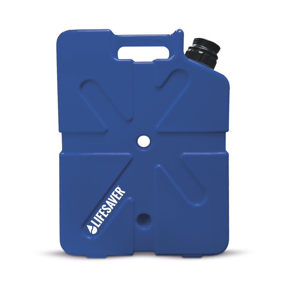 LifeSaver Portable Water Filter Jerry Can 20L (Dark Blue)