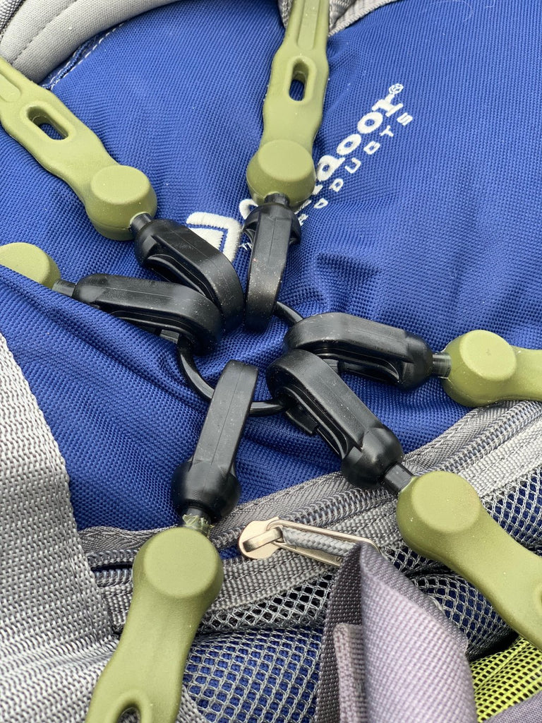 The Perfect Bungee Adjustable Flex-Web Cargo Net