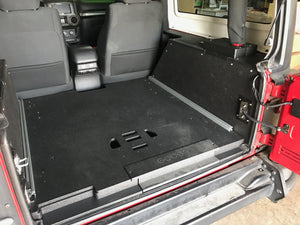 Jeep JK 2 Door Side Cubbies for 2007-2018 Model Years