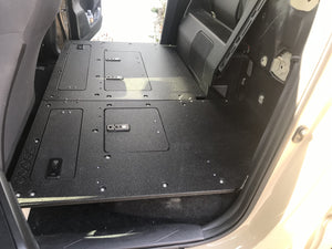Tacoma Double Cab 2nd Row Seat Delete WITHOUT Back Wall Panels for 2nd and 3rd Generations