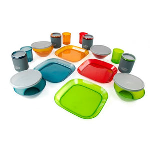 Infinity 4 Person Deluxe Tableset - Multicolor