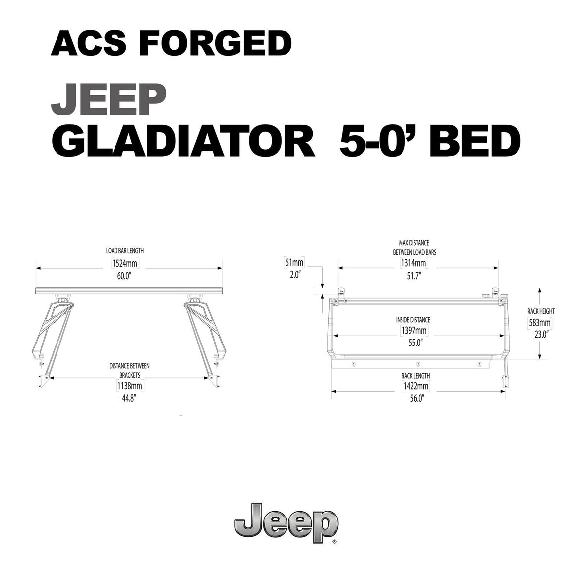 Active Cargo System - FORGED - JEEP
