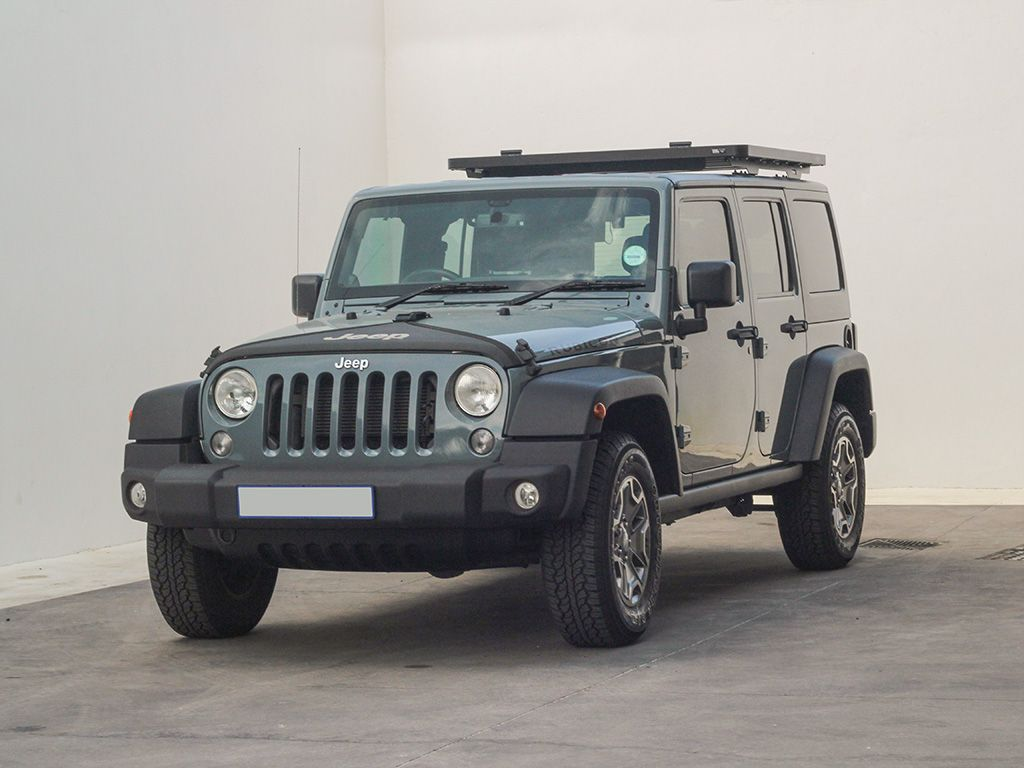 Front Runner Jeep Wrangler JKU 4 Door (2007-2018) Extreme ½ Roof Rack Kit